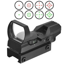 Optics Compact Reflex Red Green Dot Sight Scope 4 Reticle for Hunting ZL