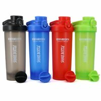 24 oz AUTOFLIP Shaker Bottle Protein Mixes Powder Blender Smoothie Mixing Ball