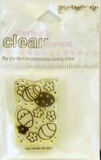NEW STAMPENDOUS CLEAR STAMP EGG PATTERN EASTER SPRING  SSC436