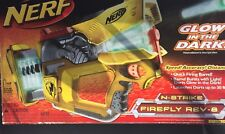 New Nerf N-Strike REV 8 Firefly Dart Gun Blaster Glow in the Dark. Sealed Box