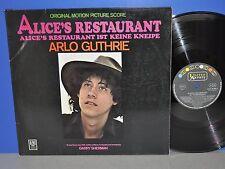 Arlo Guthrie Alice's Restaurant OST D '69 United Artists 1st press Vinyl LP