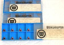 29 pcs. Wohlhaupter carbide insert 097151 WHC25 gr.W50 TiN for boring, threading