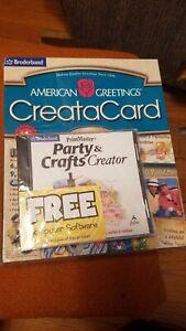 Broderbund Print Master American Greetings CreataCard