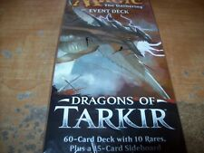 MTG DRAGONS OF TARKIR 60 CARD EVENT DECK STILL SEALED FREE SHIPPING WTRACKING