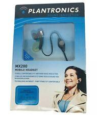 Plantronics MX200 Mobile Headset Ear Bud for Sony Ericsson E2 BLACK