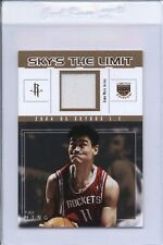 2005 Fleer Skybox YAO MING Game Used Patch /50 INSERT SP Skys the Limit