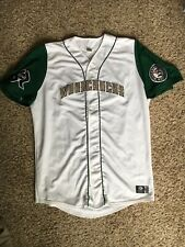 WISCONSIN WOODCHUCKS GAME WORN #35 JERSEY BY OT SIZE 50 NORTHWOODS LEAGUE