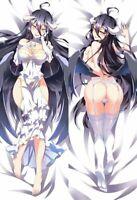 Dakimakura Albedo Overlord Body Pillow Case Hug Anime 150 x 50 NEW WAIFU