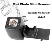 35mm Negative Film&Photo Slide Scanner Windows XP High quality JPEG to Digital