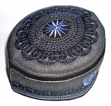 Muslim Men Kufi Hat ALW005 Haj Topi Prayer Cap Thai Product Islam Eid Gift Sz 23