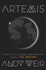 ARTEMIS by Andy Weir (2017, Hardcover)