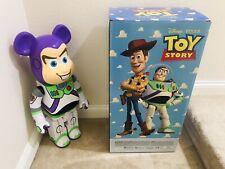 New ListingMedicom 2019 Be@rbrick Disney Toy Story 1000% Buzz Lightyear Bearbrick 1pc