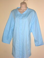 New! Ulla Popken Light Blue Tunic  blouse Top sz 28/30