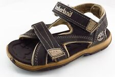 Timberland Brown Synthetic Sandals Toddler Boys Sz 10