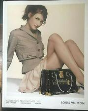 Louis Vuitton Collection Ete Printemps  Pret-A-Porter  Maroquinerie Soulier 2003