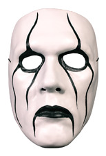 Sting WWE Silent Warrior Front Face Halloween Adult Mens Mask