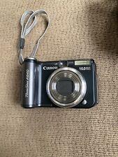 Canon PowerShot A640 10 MP Digital Camera - Flip out screen + 1.75xTeleconverter