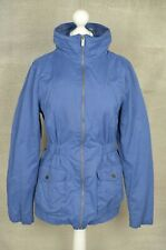 FAT FACE Blue hooded zip up jacket UK 14