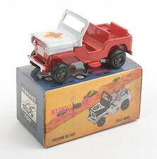 Maxwell Toys (India) No.607 Maxwell Mini Police Jeep 1970s * MIB *