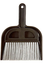 """Detailer's Choice 4B320 Whisk Broom and Dust Pan 5"""" Wide for Car & Small Places"""
