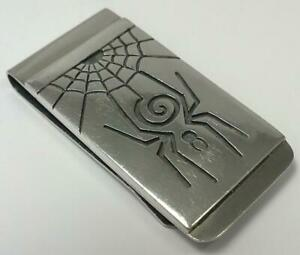 Vintage Sterling Silver Mounted Money Clip (South African) – c2000