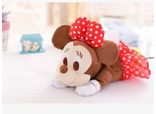 cute minnie mouse lying  plush tissue box holder cover L147 decorate