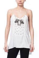 Zara Waist Length Crew Neck Floral Tops & Shirts for Women