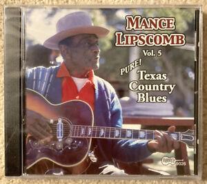 Mance Lipscombe Texas Country Blues Vol.5 (Arhoolie CD 9026) Brand New