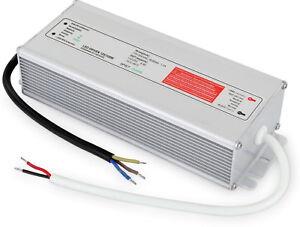 LED Transformer IP67 100W 230V>12V Transformer Outside Wet Room Waterproof