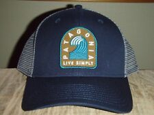 Patagonia Live Simply Breaker Badge Navy Trucker Hat