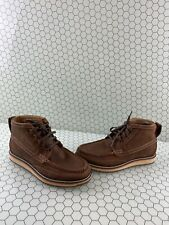ARIAT Lookout Foothill Brown Leather Lace Up Moc Toe Casual Boots Mens Size 8.5D