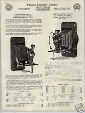 1930 PAPER AD 4 PG Eastman Kodak Camera Hawk Eye Folding Brownie Box Pocket