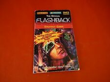 Official Flashback Super Nintendo SNES Strategy Guide Player's Hint Book *RARE*