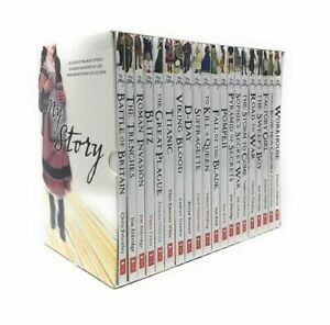 My Royal Story 20 Books Set - The Complete Collection in Box Gift Pack Brand New