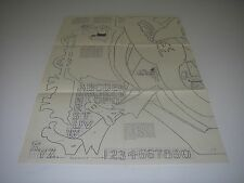 HobbyCraft 1956 Blueprint Pattern Number Name Address Plaques Letters Numbers