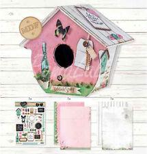 Casetta degli uccellini, Bird house legno MDF per angoli romantici