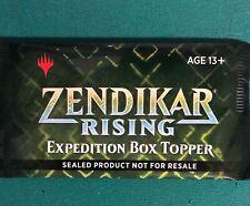 Magic Zendikar Rising Expedition Box Topper