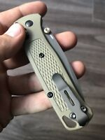 Benchmade Bugout CUSTOM NASA Grade Titanium Pocket Clip Screws