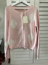 Country Road Girl Diamond Cardigan Knit Size 10 Brand New With Tag Rrp $54.95