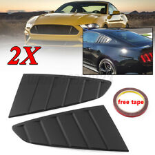 For Ford Mustang 2015-2020 1/4 Quarter Window Louver Side Vent Scoop Cover