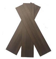 Walnut Wood Panels 100mm x 450mm x 5mm - Pack of 3 Sheets WAL3X3