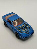 Majorette Vintage 1980's Bue Corvette Custom 1:57 Scale #268