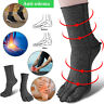 Anti Edema Compression Socks Heel Ankle Five-toe Foot Sleeve Support Pain Relief