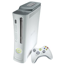 Microsoft Xbox 360 20GB Matte White Console with Kinect and games