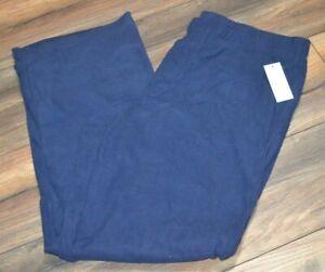 Navy Super Soft & Comfy Fleece Pants Soft & Warm Lounge Pants PJ Bottoms