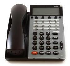 Lot of (10) Fully Refurbished NEC DTU 16D-2 Display Phone (Black)