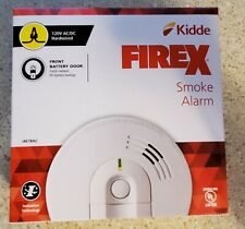 FireX Hardwire Smoke Detector with 9-Volt Battery Backup and Front Load Battery