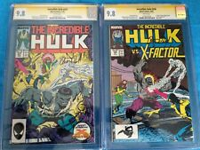 Incredible Hulk #336-337 set - Marvel - CGC SS 9.8 - Signed by Peter David
