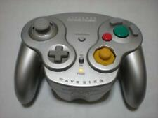 Nintendo GameCube Wavebird Wireless Controller Silver Platinum With RECEIVER