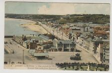 Jersey postcard - St Helier - General View taken from Esplanade - LL 1 - P/U